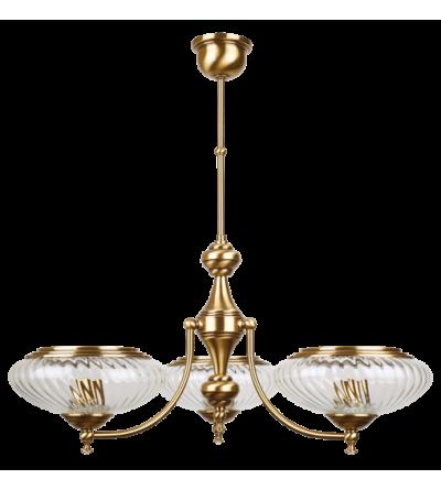KUTEK lampa wisząca SAN-ZW-3(P)SW-NEW