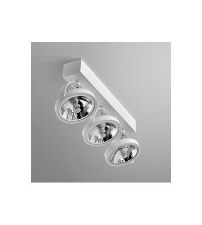AQForm reflektor CERES 111x3 R Phase-Control biały mat