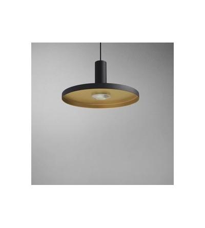 AQForm lampa wisząca MORPH flat LED M930 40° czarny mat