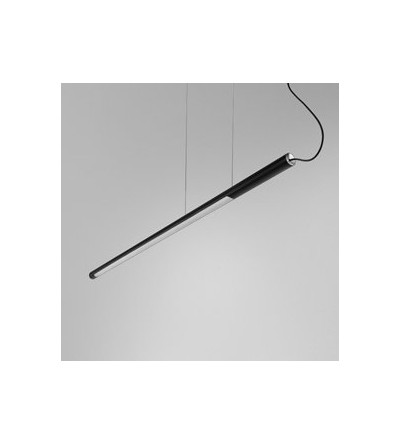 AQForm lampa wisząca THIN TUBE asymmetry 122 LED L930 czarny mat