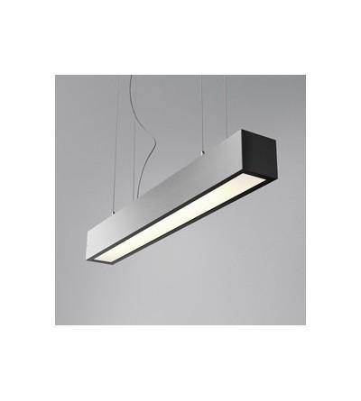 AQForm lampa wisząca SET ALULINE 60 FLUO 14W L antracyt