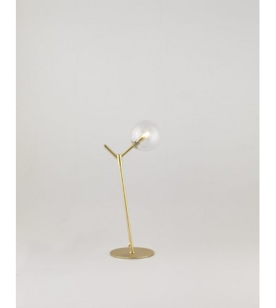 Aromas Lampa stolikowa ATOM metal, szkło