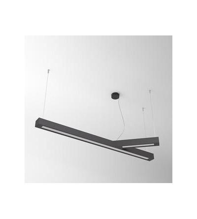 Cleoni Wiszące RAMITA aluminium led 45W