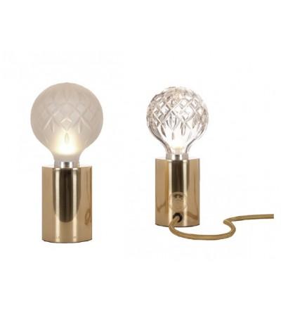 CRYSTAL BULB TABLE LAMP