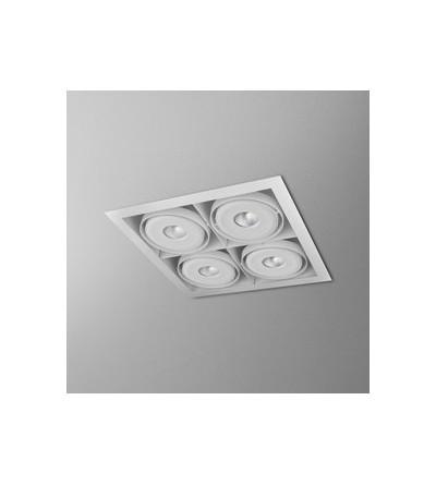 AQForm lampa wpuszczana SQUARES 111x4 SQ QRLED 230V M930 38°