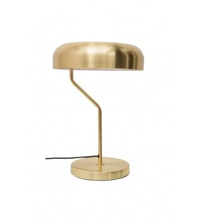 Dutchbone Lampa stołowa Eclipse mosiądz
