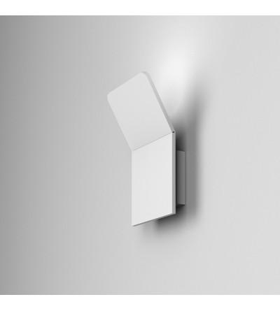 AQForm Kinkiet CAMBER square mini LED biała struktura