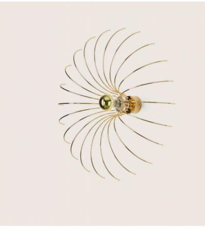 AROMAS SPIDER Kinkiet 1XE27 300MM METAL FINISH CHROME