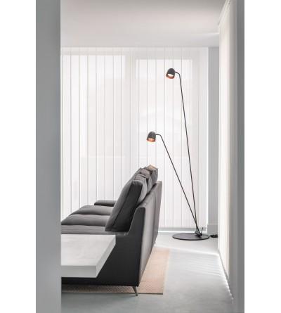 B.LUX Lampa podłogowa SPEERS F BLACK-COPPER