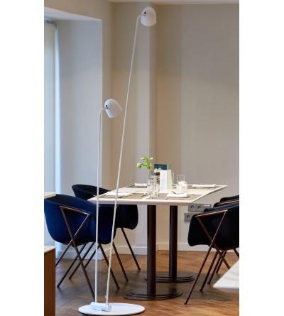 B.LUX Lampa podłogowa SPEERS F WHITE-BRASS