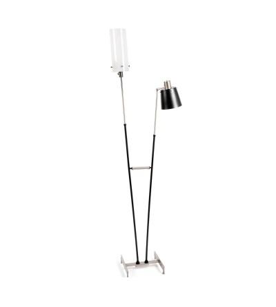 DelightFull Lampa podłogowa PASTORIUS mosiądz aluminium akryl