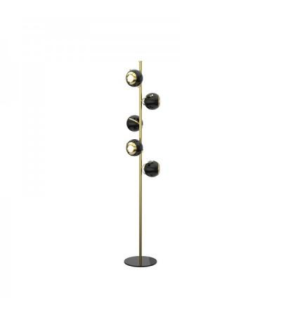 DelightFull Lampa podłogowa SCOFIELD mosiądz aluminium