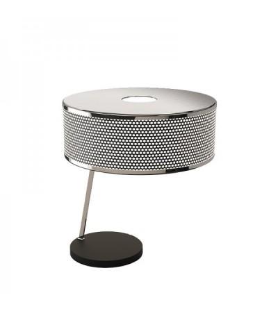 DelightFull Lampa stolikowa MARCUS mosiądz aluminium stal akryl
