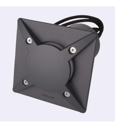 Norlys Lampa wpuszczana Rena Cover 5,5W 3000K czarna