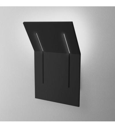 AQForm Kinkiet Camber square glow LED L930 6,5W 3000K czarny mat