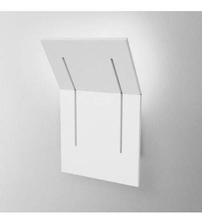AQForm Kinkiet Camber square rift LED L930 6,5W 3000K biały mat