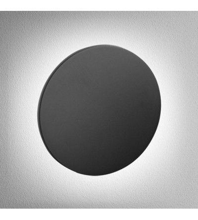 AQForm Kinkiet MAXI POINT round LED 230V G/K 6W 3000K