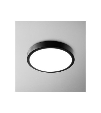 AQForm Lampa natynkowa BLOS round 32 LED hermetic L930 czarny