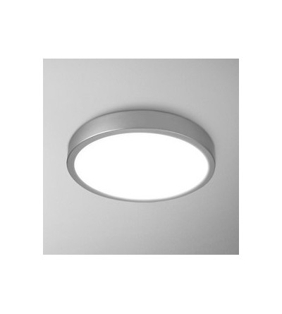 AQForm Lampa natynkowa BLOS round 40 LED hermetic L930 alu mat