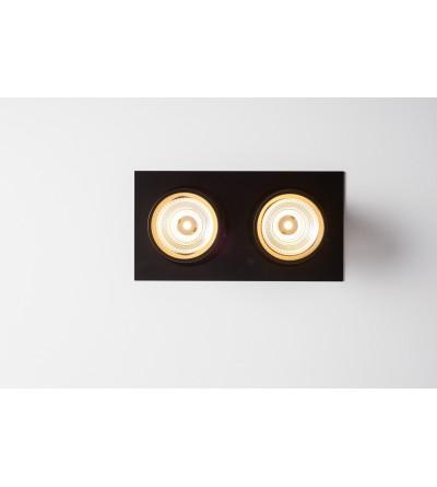 LABRA lampy wpuszczane AURO BASE 90 2x WP On-Off