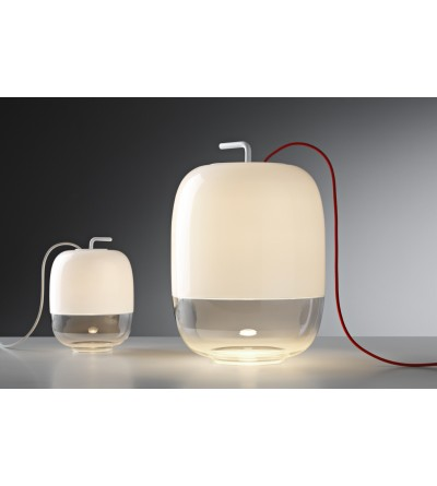 Prandina Lampa stolikowa GONG T szkło