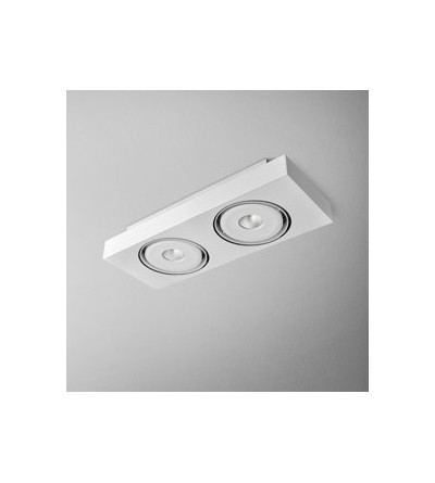 AQForm Lampa natynkowa SLEEK distance 111x2 QRLED L930 38°
