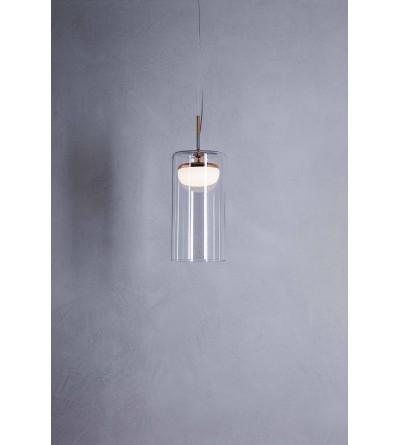 Prandina Lampa wisząca DIVER S szkło