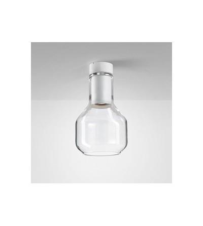 AQForm Lampa natynkowa MODERN GLASS Barrel TP GU10