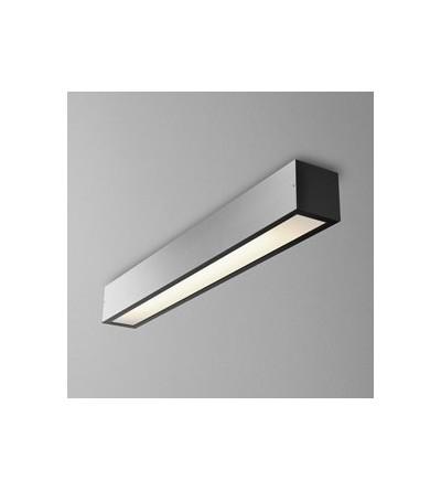 AQForm Lampa natynkowa SET ALULINE 60 FLUO 14W L czarny mat