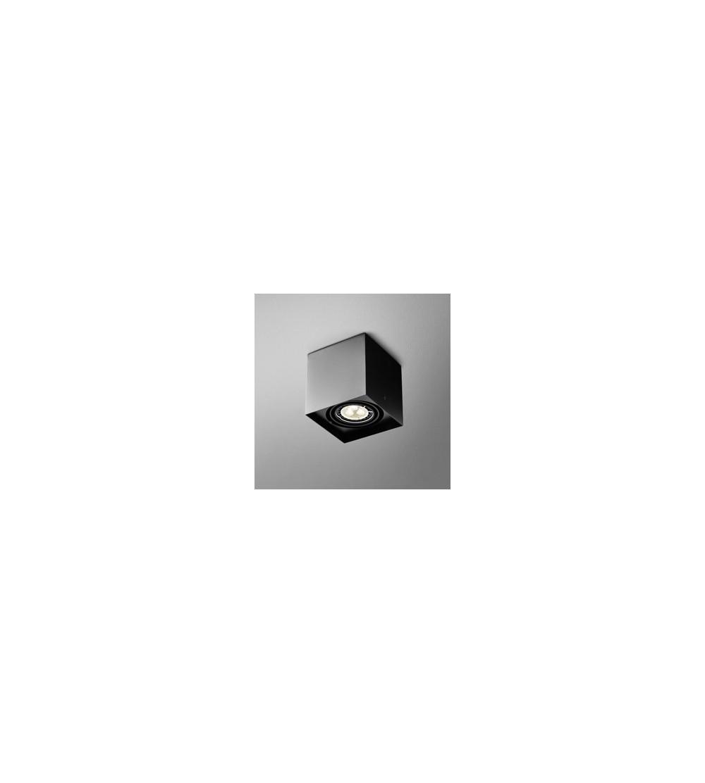AQForm Lampa natynkowa SQUARES 50x1 Phase-Control czarny mat